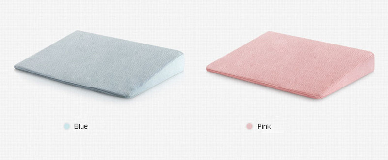 Private Label Wholesale Half Cut Memory Foam Triangle Baby