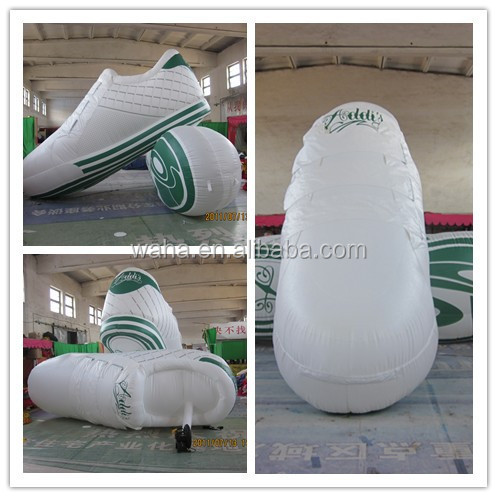 2014 giant advertising replicas inflatable shoes