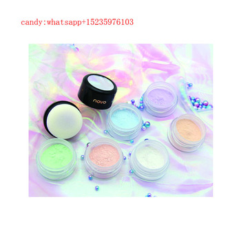 novo 6 colors Face Cosmetics Makeup Wholesale Foundation Loose Powder Make Up