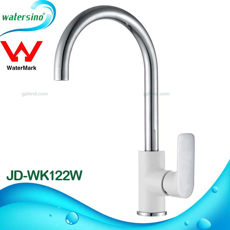 Watermark modern brass kitchen faucet One hole single handle sink tap mixer JD-WK122W