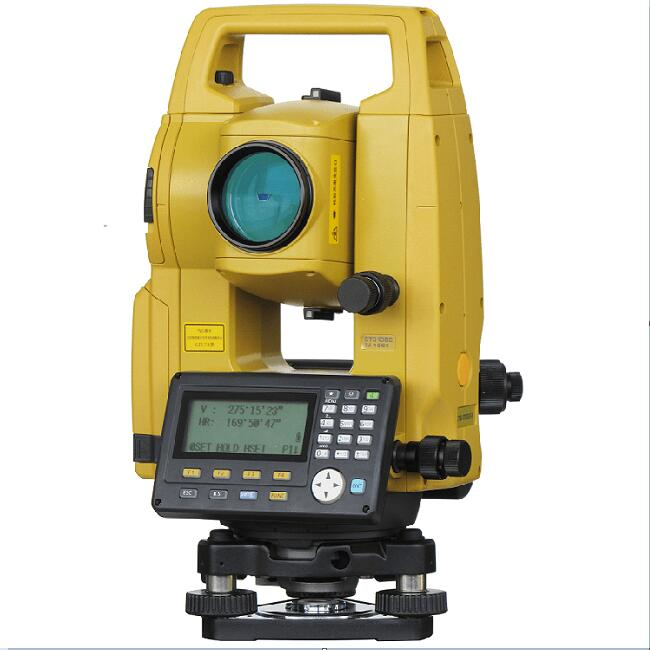 Robotic high accuracy big internal memory gts total station topcon