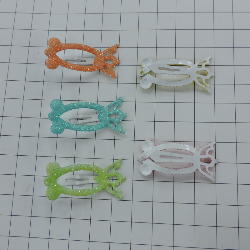 Well Designed fashionable wholesale acrylic hair clips