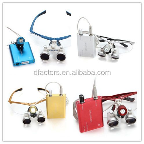 Heine dental surgical loupes / ttl dental surgical loupes with led headlight for dental clinic
