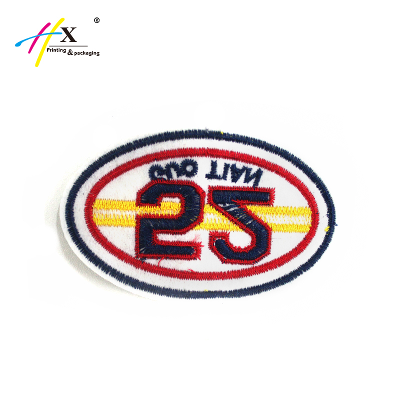 Brand iron on patches badge brand magnet for backpack