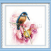Hot Sell Chinese Colorful Square Anime Bird Cross Stitch Pattern Kit