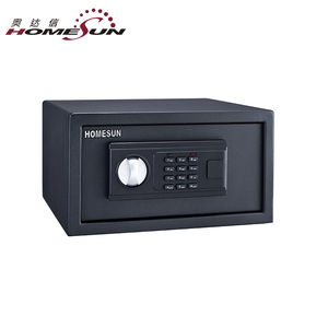 Hot Selling Hotel Safe Deposit Digital Keypad Safe Lock Box in Foshan, Hotel Bedroom Safes