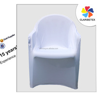 White Spandex Arm Chair Cover, Office Chair Cover, Chair Protect