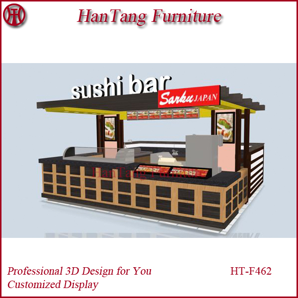 Shenzhen china oem mall indoor food kiosk with 3 d max for Indoor food kiosk design