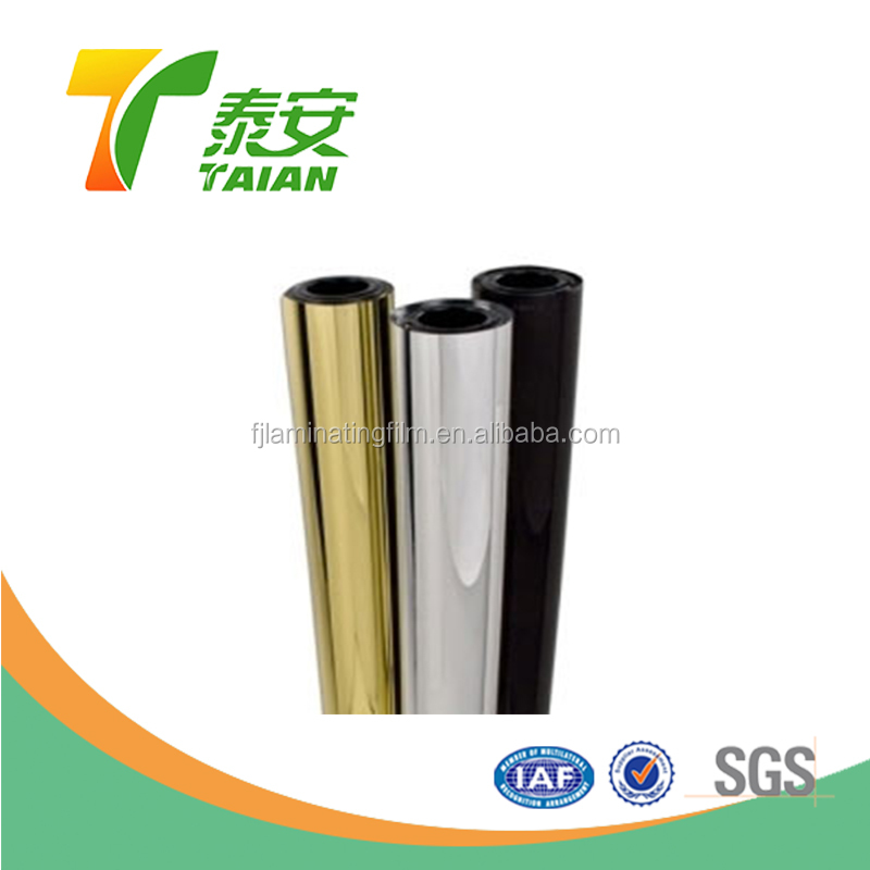 Silver PET Thermal Lamination Film Rolls