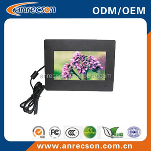 waterproof touch screen 7 inch flush mount tft lcd monitor