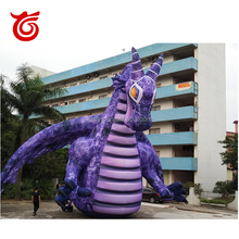 Custom design cartoon characters,purple cartoon characters,inflatable dragon