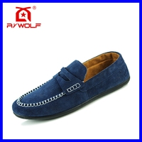New style navy cheap men velvet loafers manufacturers