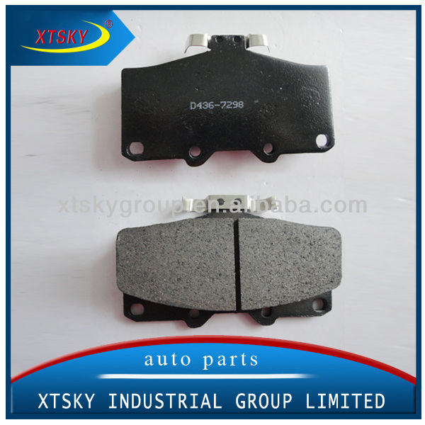 XTSKY Brake Pad Set System D436-7298 Used for Car