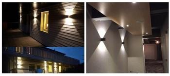 Aluminum Shell House Updown Light