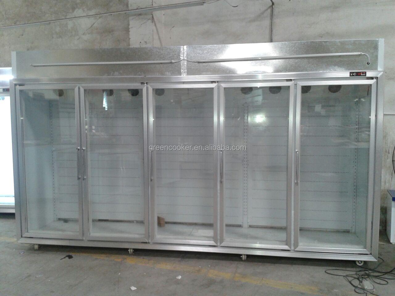 Glass Door Commercial Freezer Refrigerator Buy Glass