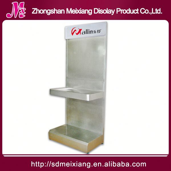 Metal display jewelry box, MX9913 mdf market display shelf