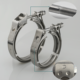 High quality ss304 3.5 inch exhaust v band clamp