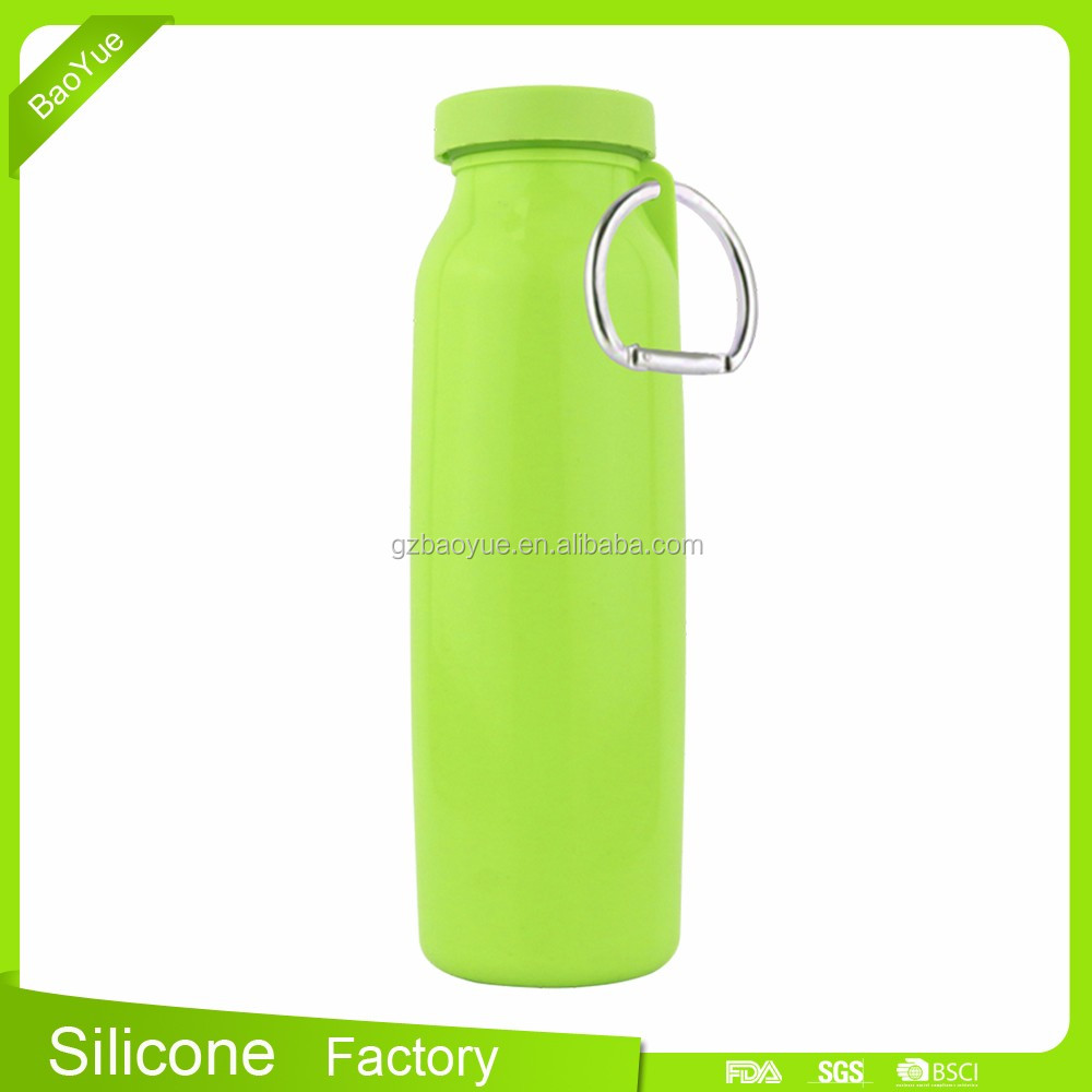 2015 new popular water bottles Food Grade BPA Free Best Selling Foldable bottle water boys