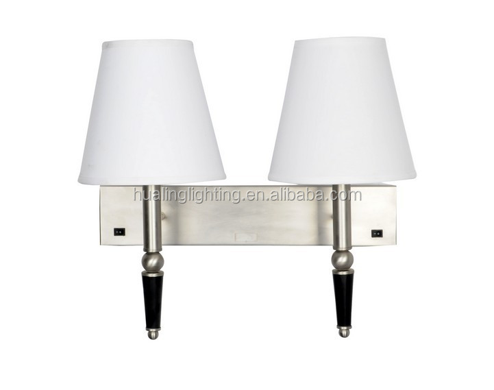High quality bedside reading wall lamp for hotel project