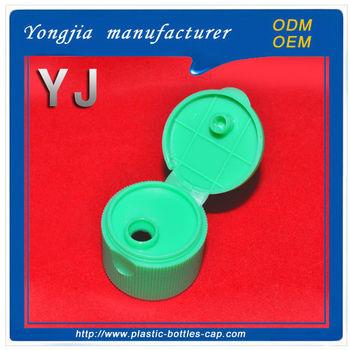Toothpaste Tube Lids 28/415 Mm Green Plastic Pp Cap