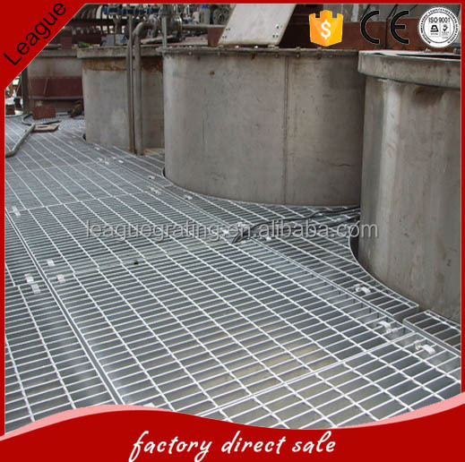 welding electro forged grating