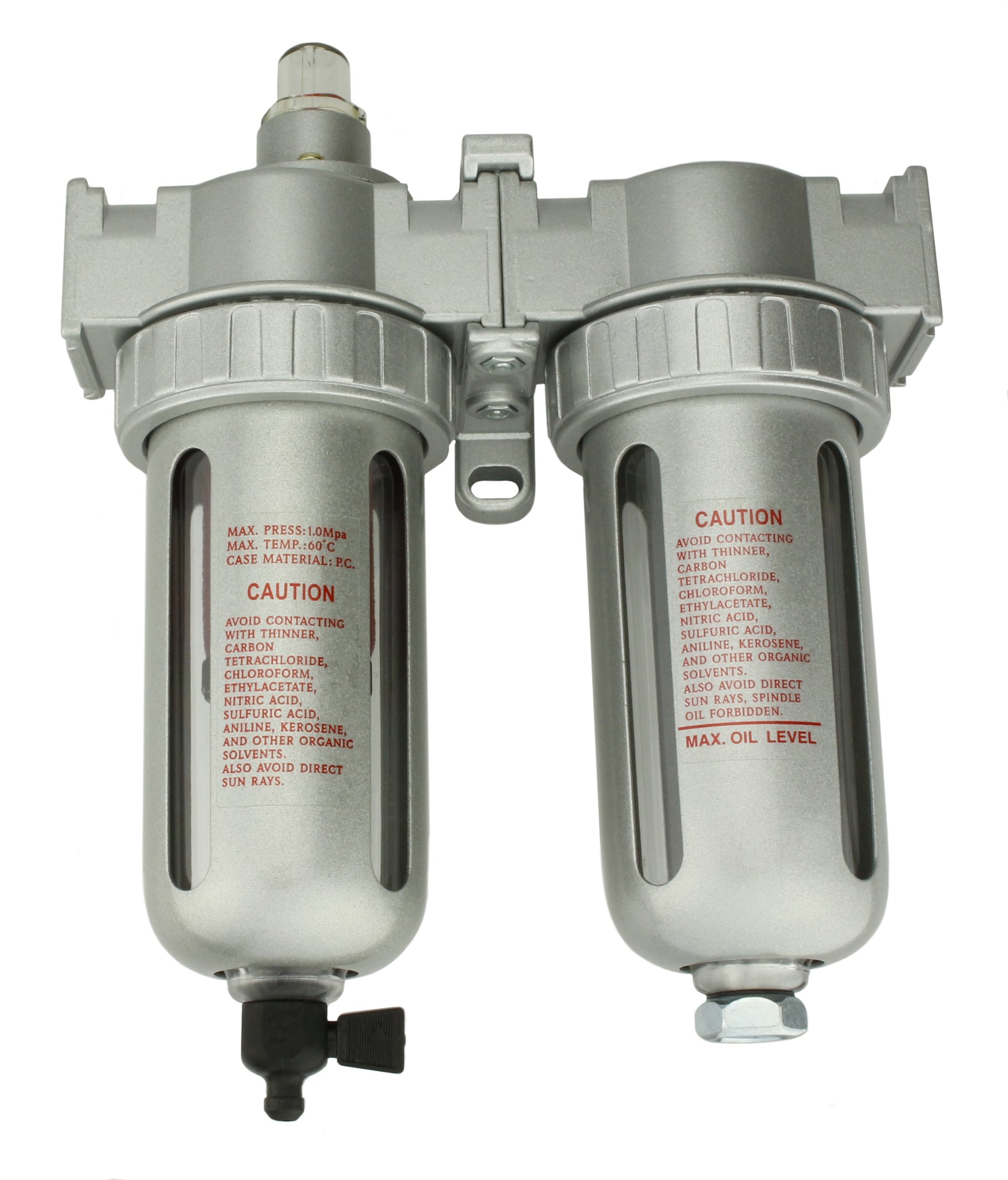 "Get Quotations · 1/2"" Compressed air in line filter & desiccant air dryer combination SPRAY GUN"