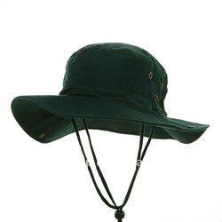 Dark Green 100 Cotton Brushed Fishing Cap Bucket Hat Reversable Floppy -  Buy Brushed Fishing Cap Bucket Hat Reversable Floppy 465abaec443