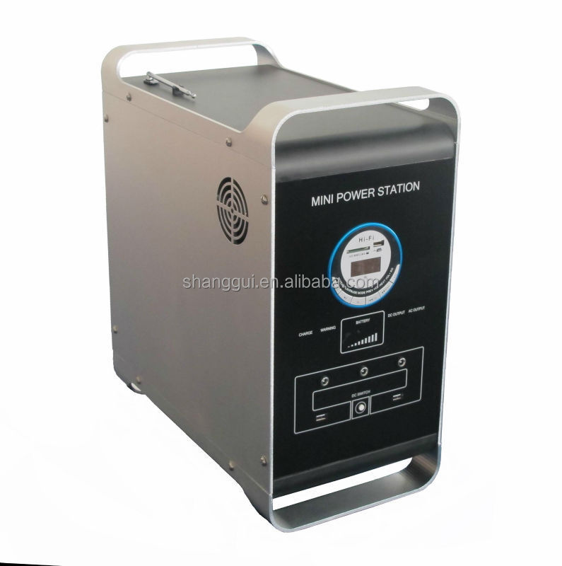 MPS-1240MP Good-looking and portable 100W mini portable solar power <strong>system</strong>