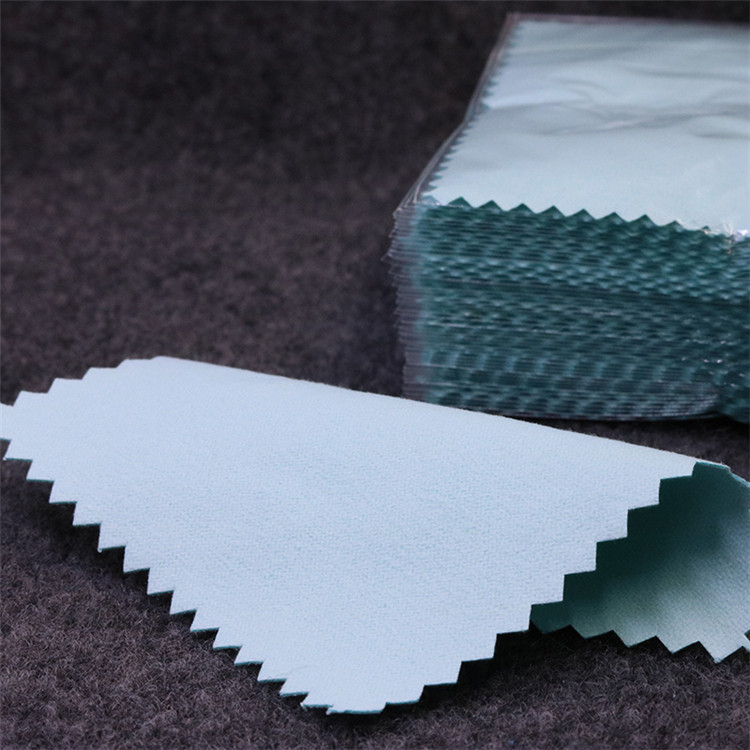 Factory Direct Supply High Quality Jewellery Silver Microfiber Polishing Cloth
