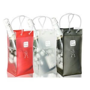 Fashion PVC wine ice cooler bag