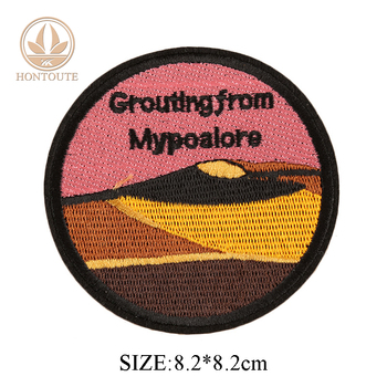 Brand Logo Name Label Factory Supplier Personalized Embroidery Patch