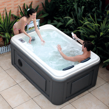 HS SPA291 Outdoor Whirlpool Bath For 2 People/ Chinese Spa Bathtub Outdoor  Price