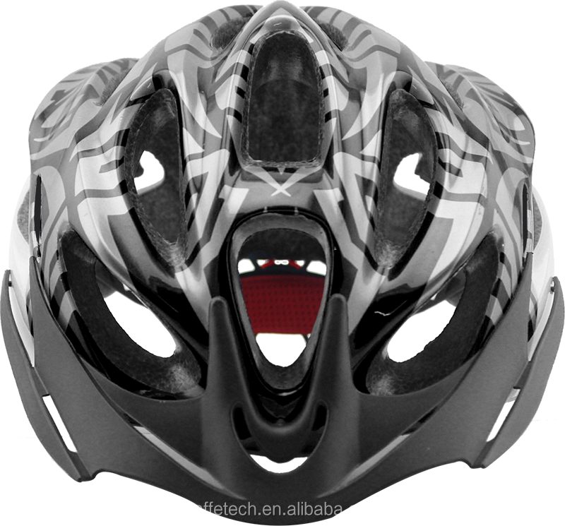 New road bike MTB bicycle in mold helmet