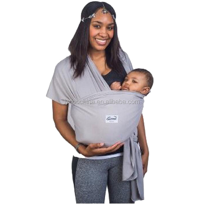 Hand free baby sling carrier