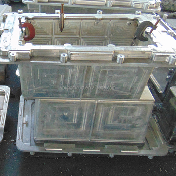 Pe+pu Ice Box Moulds,Rotomolding Mold And Pu Foam Mold,Aluminum Molds For  Ice Cooler Box - Buy Pe+pu Ice Box Moulds,Rotomolding Mold And Pu Foam