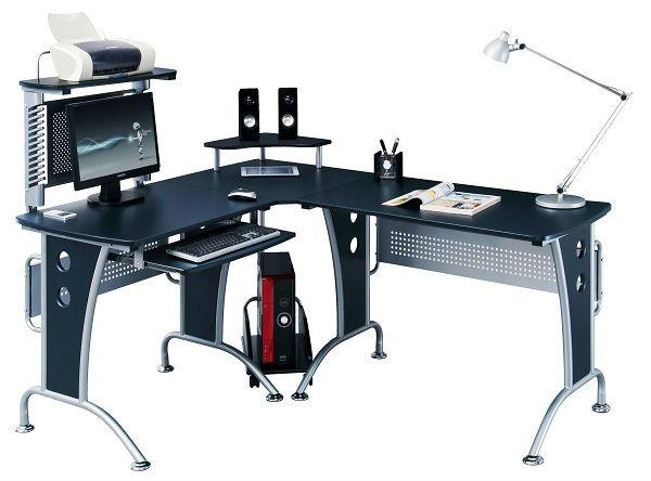 Modern L  Form Computer Tisch Ecke Computertisch Tisch