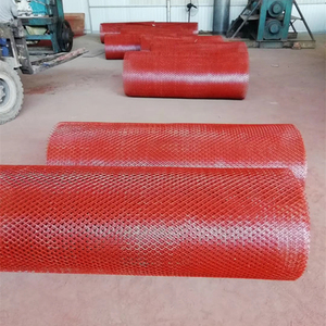 Medium expanded metal mesh sheet for highway fencing rhombus hole