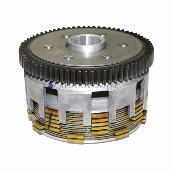 Good quality motorcycle engine parts wet clutch assembly for CB250