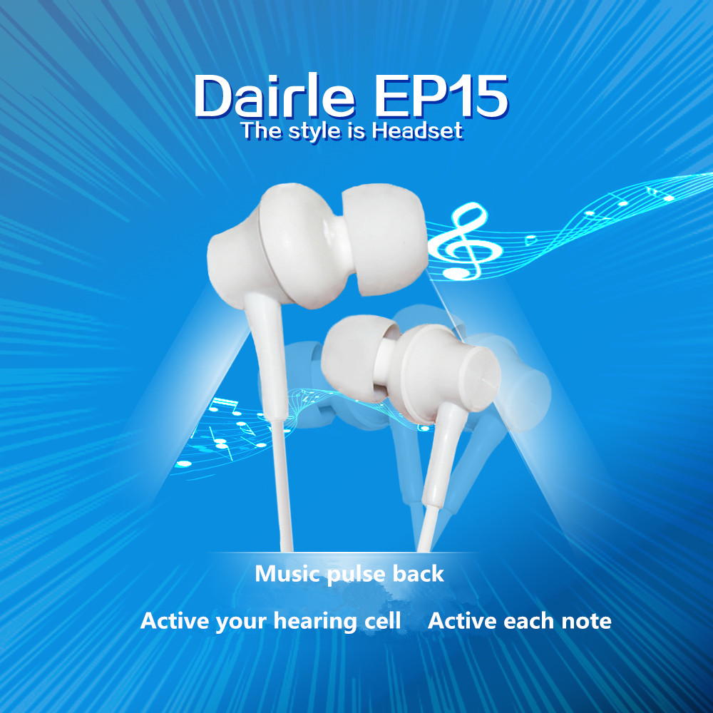 light small music stereo Earphone for voice calling