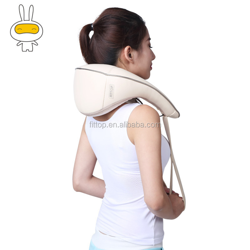 Elegance neck massager with skin-friendly material for neck to relax