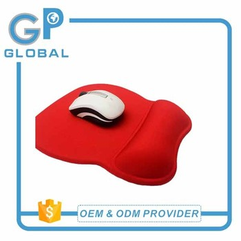 Blank Gel Mouse Pads With Wrist Rest