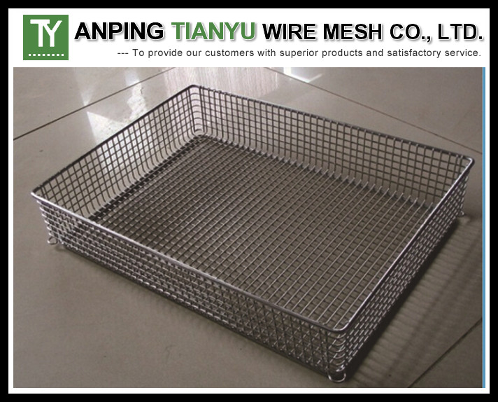 Wire Mesh Basket Strainer