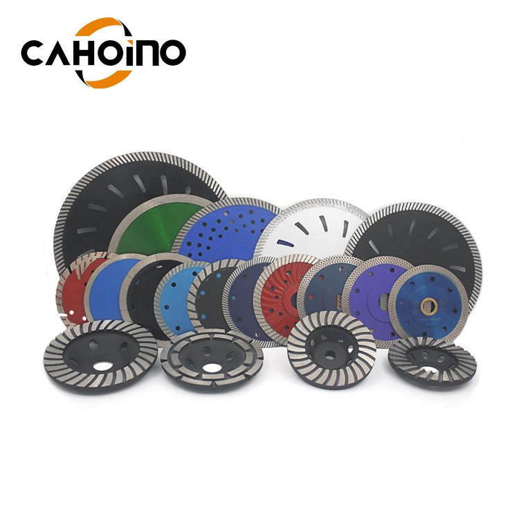 China Customized Turbo Diamond Saw Blade For Cutting Porcelain Tile
