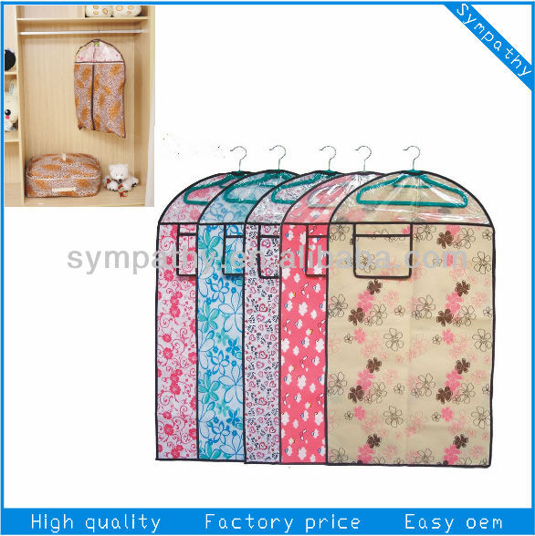 High Quality Flower Durable Cloth Cover Suit Dust Cover