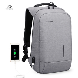 China factory 15.6 inch nylon black bag laptop backpack laptop bag