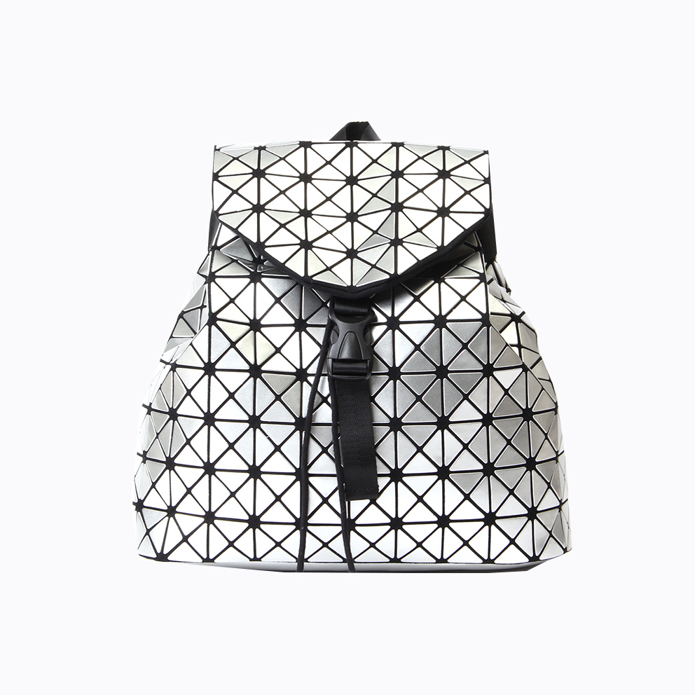 Fashion Women geometric backpack 2018 new <strong>School</strong> Back Pack holographic backpacks