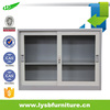 half height small sliding glass door cabinet for salse