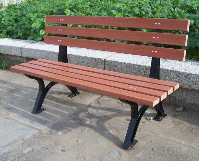 Outdoor park equipment outdoor furniture park chair / garden bench
