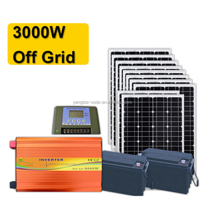 3 days battery backup solar system price 3000w