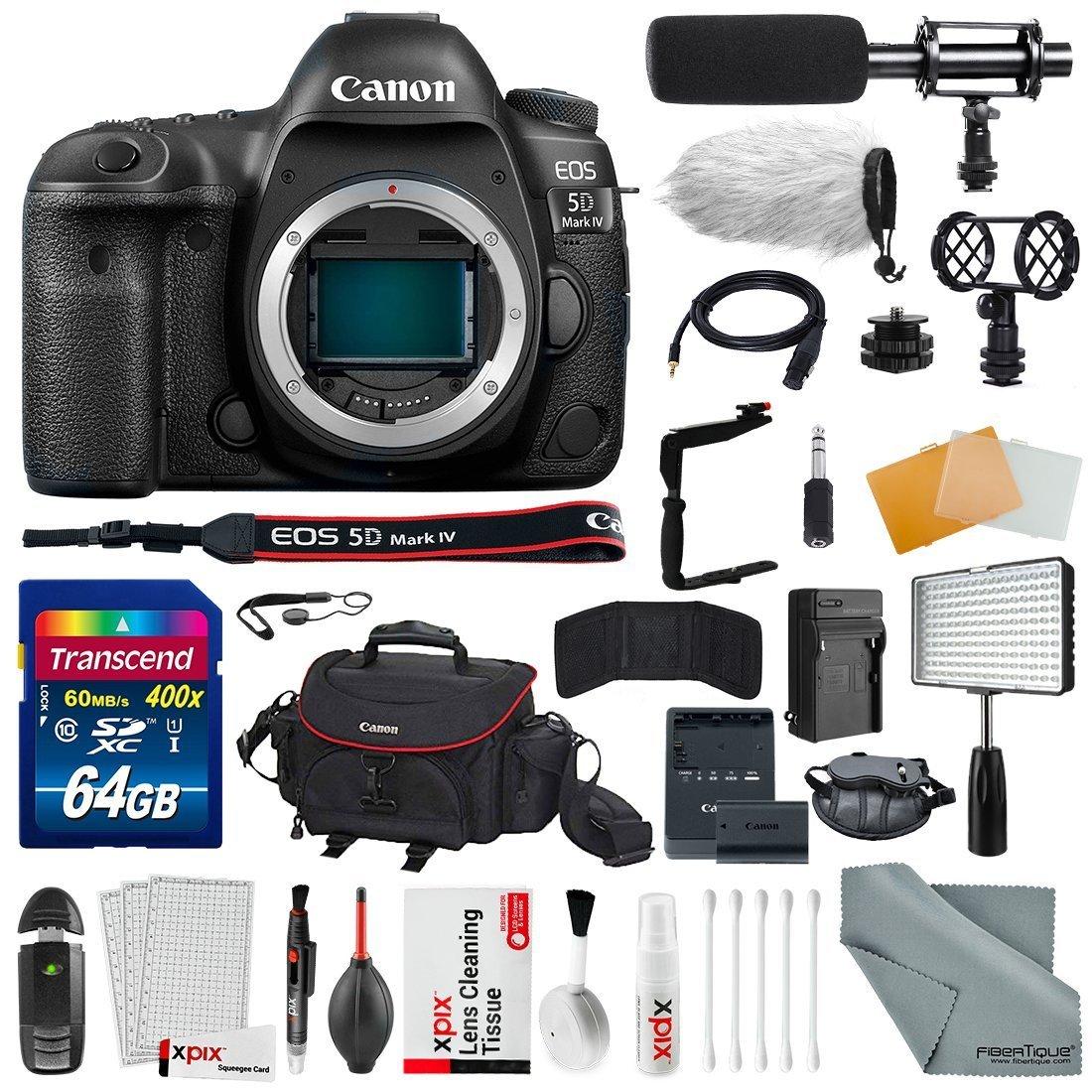Canon EOS Rebel T2I Digital SLR Camera Vidpro External XM-L Lavalier Microphone
